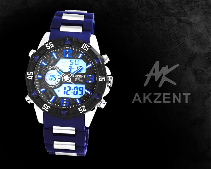 Digitální pánské hodinky AKZENT AI026 digitální hodinky